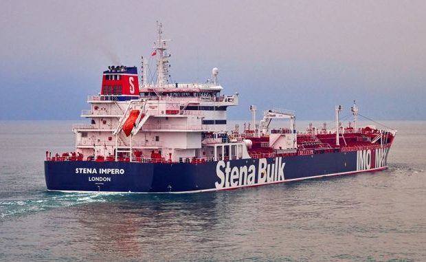 Iran is Releasing Seven People on Board from Hijacked British Tanker