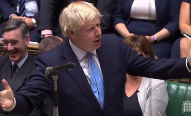 Johnson Returns to London: British House of Commons Reunited