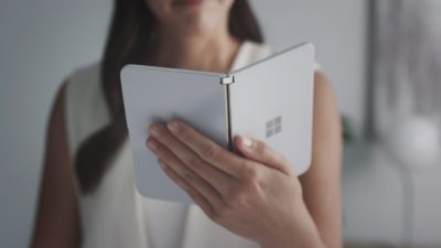 Surface Duo: Microsoft Releases A Dual Screen Smartphone