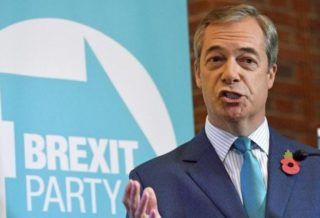 Brexit Leader Nigel Farage will not Participate in British Elections