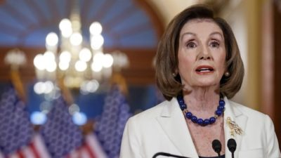 Nancy Pelosi Says House Will Draft Impeachment Charges Against Trump