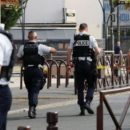 A Large Group of People Attacked Paris Police Station