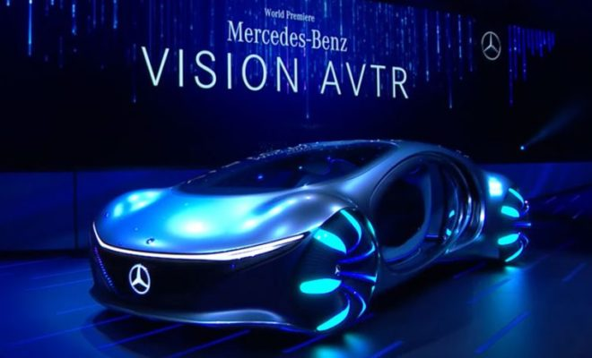 Mercedes Unveils Crazy Avatar-Inspired Car, Hyundai Goes Up in the Air