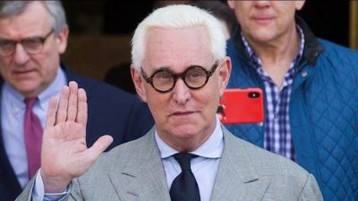 4 Prosecutors in Trial of Roger Stone Step Up, Dangerous Signal