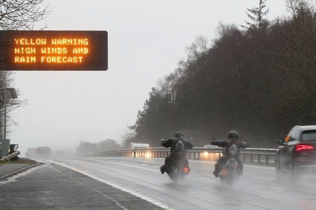 Storm Dennis Cancelled Hundreds of Flights in Great Britain This Weekend