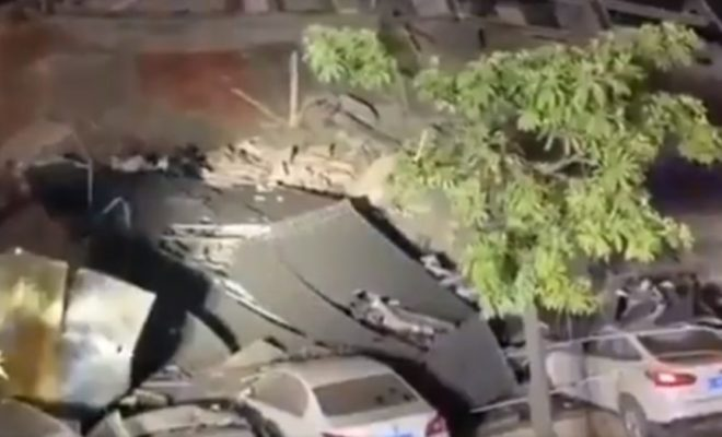 Chinese Hotel Collapsed: Around 70 People are Buried Under the Rubble