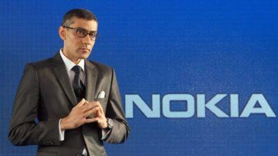 Nokia's Chief Executive Rajeev Suri is Leaving