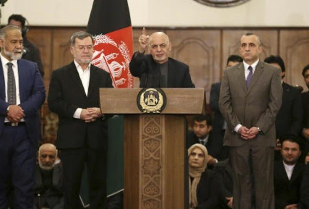 Two Presidents Take Oath in Afghanistan With Rocket Fire in the Background