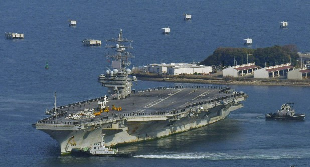 A Crew Member of the US Aircraft Carrier Died of the Coronavirus