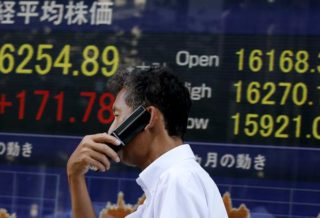 Small Profit for Nikkei, Hong Kong Closed Due to Typhoon