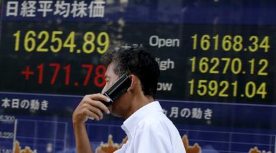 Nikkei Drops After Wall Street Share Price Fall