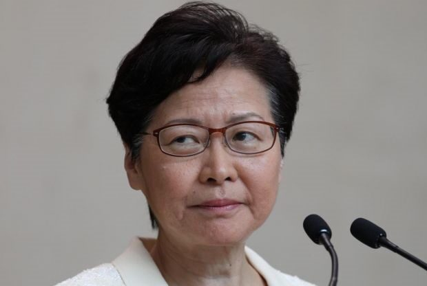 Hong Kong Leader Carrie Lam Defends Chinese Security Law