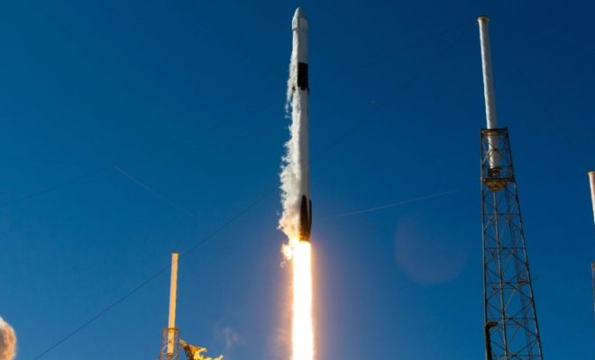 SpaceX Launches 61 Satellites Simultaneously