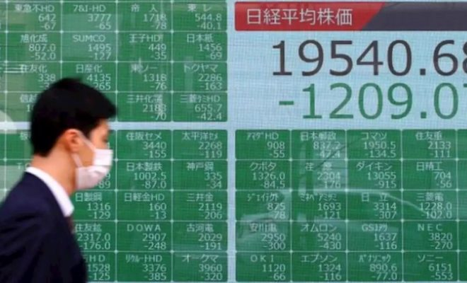 Asian Stock Markets Lower Due to Tensions Between China and the US