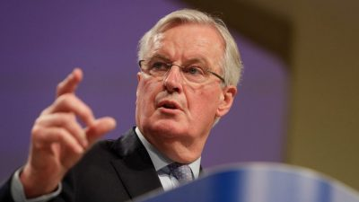 Michel Barnier: No Movement in Brexit Negotiations