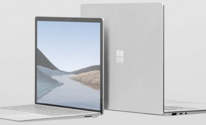 Microsoft Presents Its Latest Surface Laptop